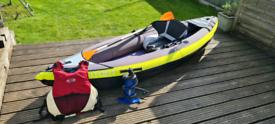 Itiwit 1 Person Inflatable Touring Kayak