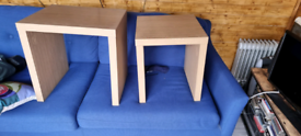 X 2 next side tables