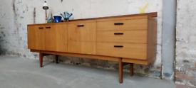 Rare Mid Century Sideboard by Uniflex