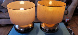 Two Large Lamps (lights)