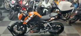 KTM duke 200 low mileage