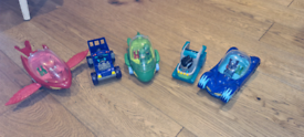 PJ Masks Vehicles and Figures bundle
