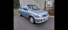 Nissan micra 2001 1.4 SE mot February 2022