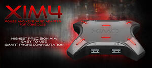 XIM4, keyboard and mouse adapter for consoles.(xbox/playstation)