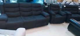 Ex display 3,2,1 Seater Recliner Sofa New condition free local deliver