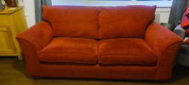 Two (2) 3 (three) seater Sofas