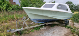 Shetland 535, trailor and outboard Boat, Cruiser, Cabin Boat