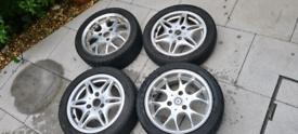 Smart car alloy wheels x2 brabus see description and pics