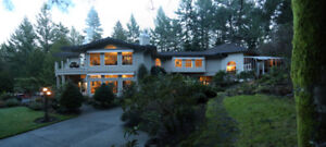Executive, Protected & Private Acreage near Airport & Ferries