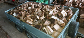 Trailer Load of logs