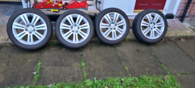 Vauxhall 5 stud alloys