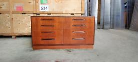 G plan Fresco 8 drawer chest