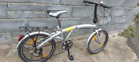 Folding bikes x 2