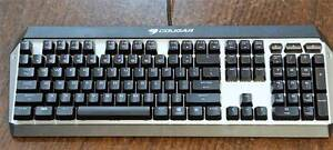 Cougar Attack X3 Cherry Blue Mechanical Gaming Keyboard Taringa Brisbane South West Preview