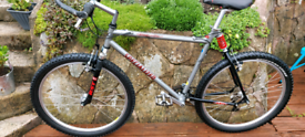 Rare Retro specialized ground control suspension mountain bike