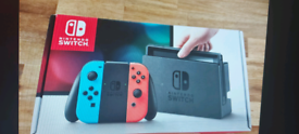 Nintendo Switch Console Excellent Condition Boxed