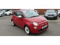 FIAT 500 COLOUR THERAPY 2014 RED 1.2L PETROL
