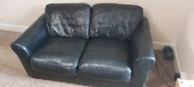 Leather sofas, 2 and 3 seaters