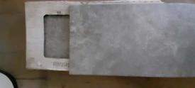 Beautiful grey tiles, 4x boxes