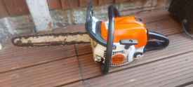 Stihl chainsaw