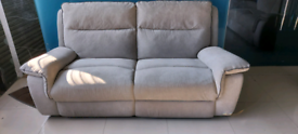 Grey DFS 3&2 SEATER SOFA SET NEW FREE LOCAL DELIVERY