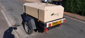 Ingersoll rand doosan road tow compressor 140cfm diesel 2 tool export