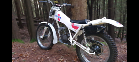 Beta tr125 trials bike