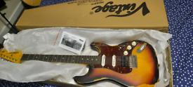 Vintage Icon-V6 Rellic Stratocaster Electric Guitar