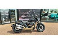 Harley-Davidson Softail 1868cc Fat Bob 114 ABS (Black) MY21