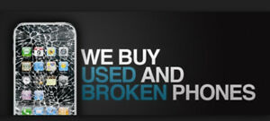 WE BUY USED /  NEW / BROKEN  IPHONE AND SAMSUNG  TABLET   PS4