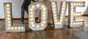 Marquee LOVE Sign for Rent-$100