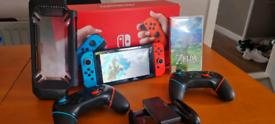 Nintendo Switch improved battery version.