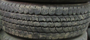 17 INCH TIRES. 4 OF THEM LT245-70-17