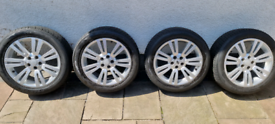 """Land Rover Range Rover 20"""" alloy wheels and tyres"""
