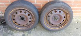 """Suzuki Swift steel wheels x2 15"""""""