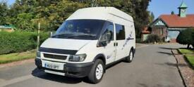 2001 Ford Transit High Roof Van TD 75ps CAMPER VAN 2 BERTH FULLY KITTED OUT Spec