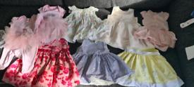 Large girls baby bundle 0-3 months