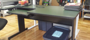 Desk with Keyboard Tray - FREE!