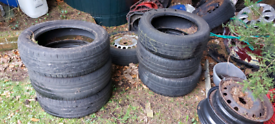 Tyres 16 and 17 inch