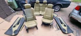 BMW E46 M3 Convertible Kiwi Nappa Leather Interior Complete RARE