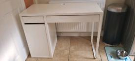IKEA white MICKE desk