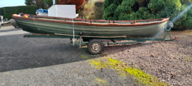 19ft burke boat and trailer