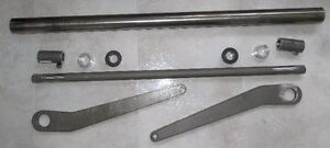 """23"""" X .750 SWAY BAR KIT WITH 12"""" LONG STEEL ARMS"""