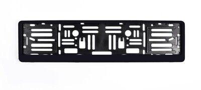 Euro License Plate Mount Holder Adapter Bumper Frame Bracket for Cars & Trucks Mount License Plate Bracket