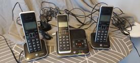 BT trio cordless phone