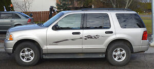 2004 Ford Explorer XLT SUV, Great Condition Prince George British Columbia image 2