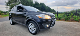 2010 ford kuga 2.0 TDCi Titanium 5dr 4x4 in black, only 141000 miles f