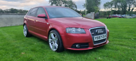 2008 AUDI A3 2.0 TDI S LINE MOTED TO SRPT POSSIBLE PART EXCHANGE