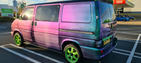 vw t4 1.9td day van/camper, recon engine with 93bhp and new clutch