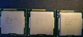 Intel CPU processor's x3